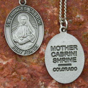 Pewter Cabrini Necklace