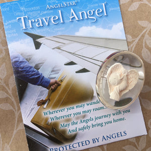 Travel Angel Pocket Stone