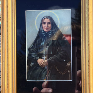 Matted Picture of Mother Cabrini