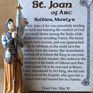 Joan of Arc Small Statue