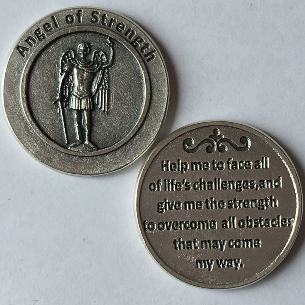 Angel of Strength Coin