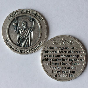 Patron Saint of Cancer Pocket Coin