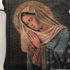 Praying Madonna Rosary Case