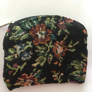 Black Floral Tapestry Case