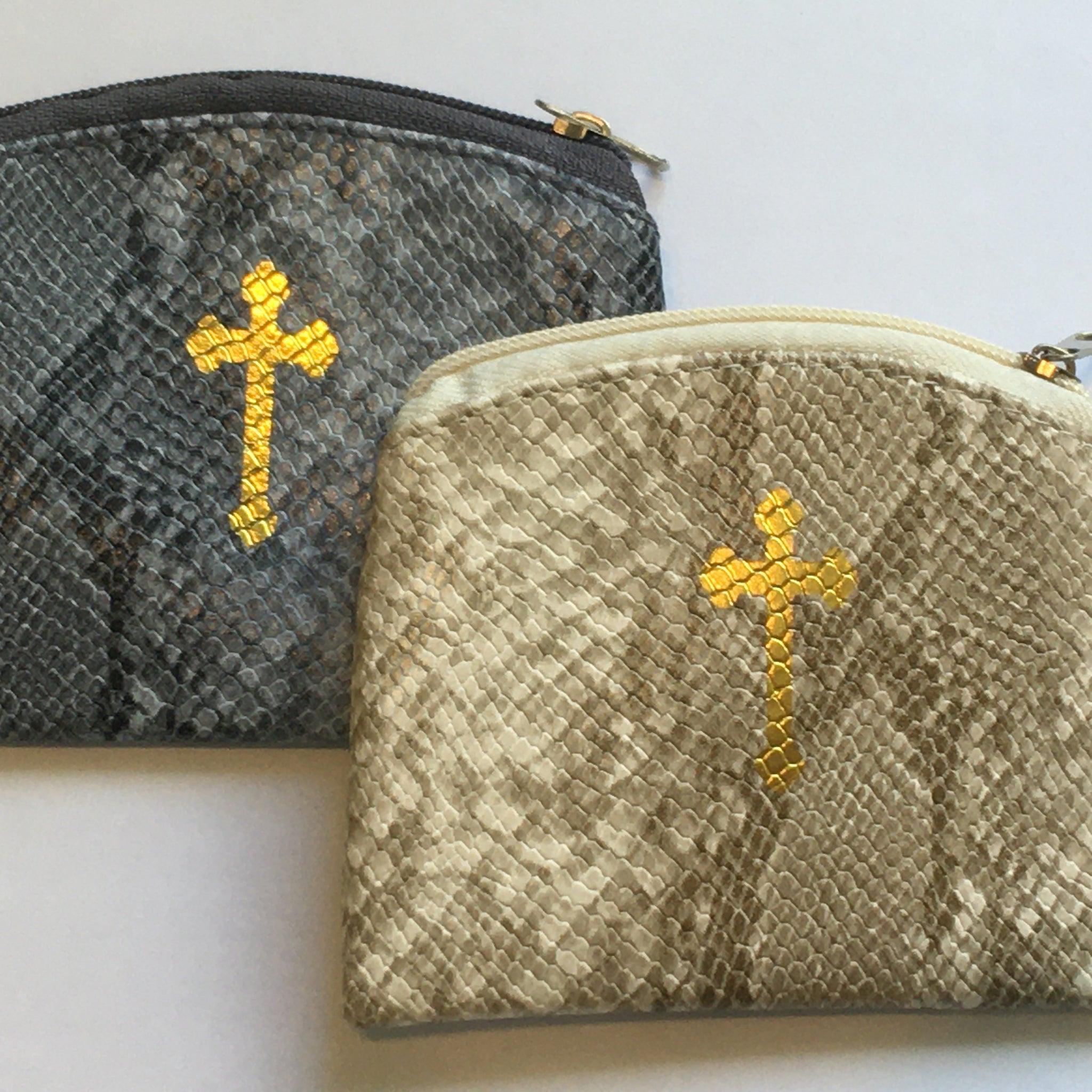 Textured Rosary Case