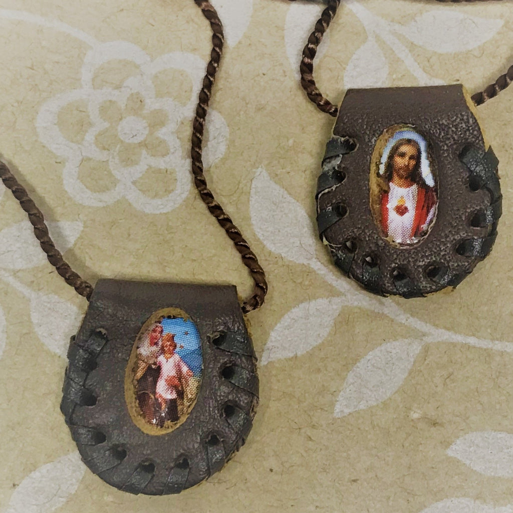 Leather Scapular