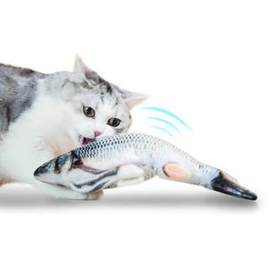 Cat Kickers Dancing Fish Toy