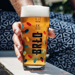 BRLO GLAS | HAPPY PILS | 6 glasses each 0,3l