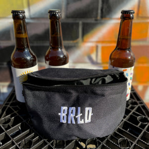 BRLO belly pouch fanny pack along with bottles