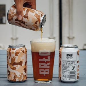 NAKED   NON-ALCOHOLIC PALE ALE   incl. 25 cent deposit