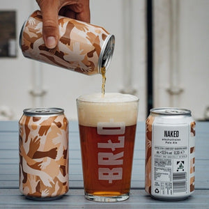 NAKED CRATE   NON-ALCOHOLIC PALE ALE