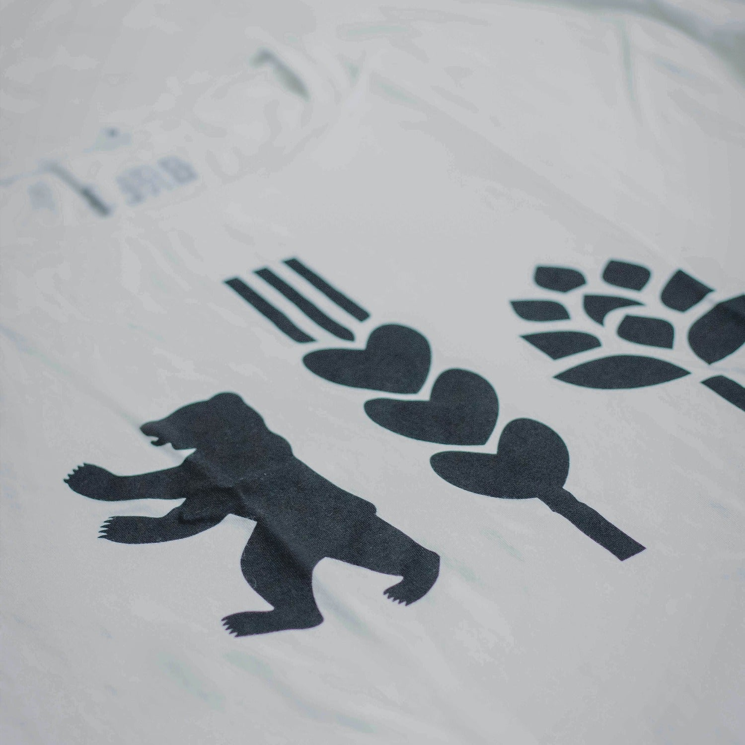 T-SHIRT | BERLIN LOVE (Weiß)