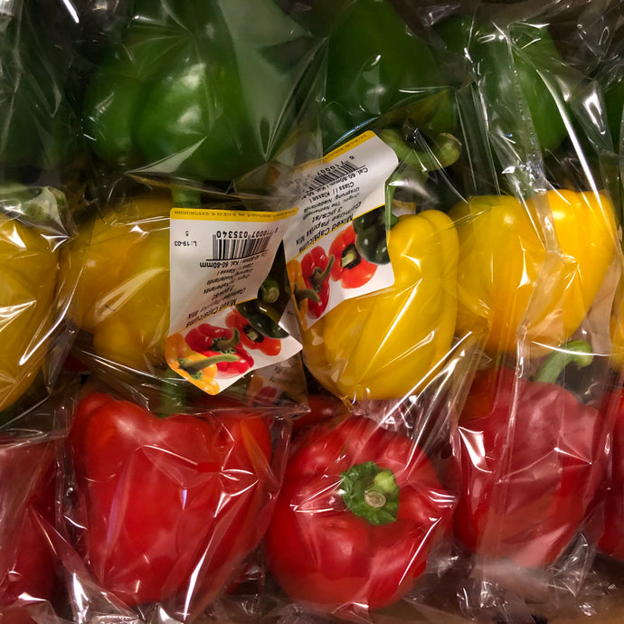 Mixed Peppers (three in a pack)