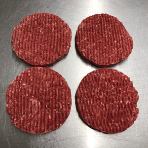 Four-Pack 170g (6oz) Steak Burgers