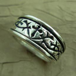 Thorns Ring - Sterling size 8.5