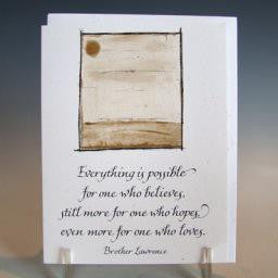 Everything is Possible, Card