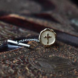 Sealed in Christ Tie Tac,14KY
