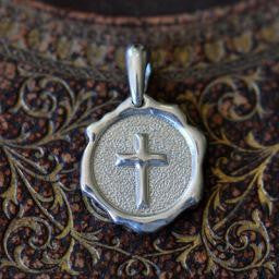 Sealed in Christ Pendant, Large Sterling (Pendant Only)
