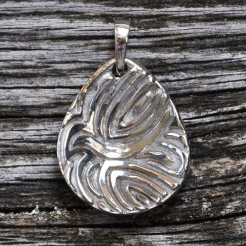 God's Touch Dove, 14K White Gold