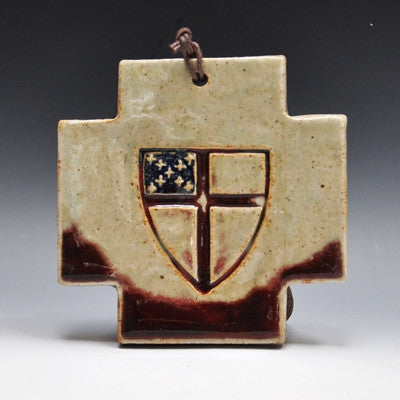 Greek Cross with Episcopal Shield