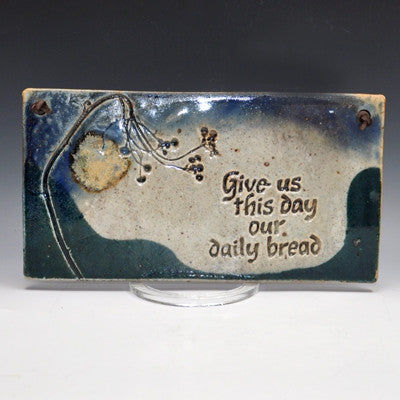 Daily Bread Plaque