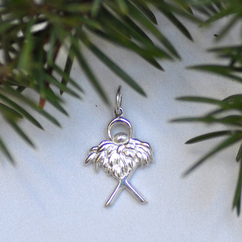 Arise Designs God in a Manger Charm