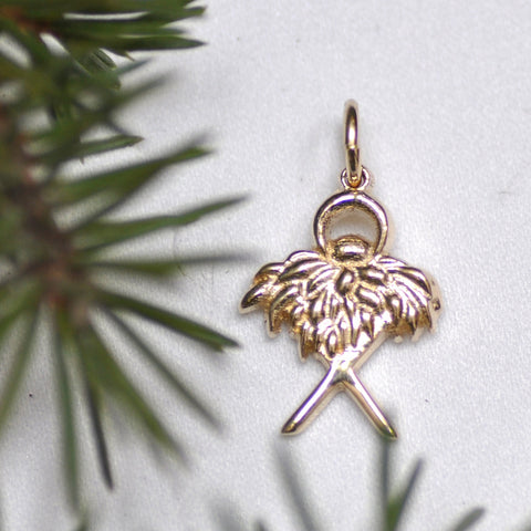 Arise Designs God in a Manger Charm, 14KY