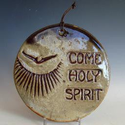 Come Holy Spirit Plaque