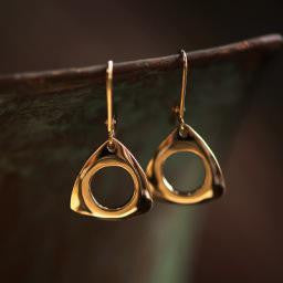Trinity Earrings-14KY