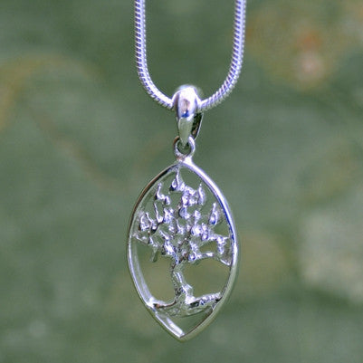 Burning Bush Pendant, Lg