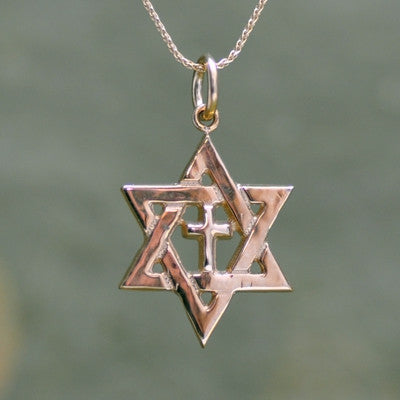 Star of David Pendant, 14KY
