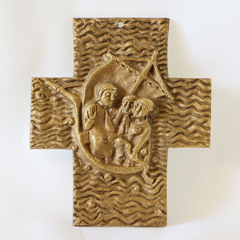 Wedding Cross, Couple with Christ