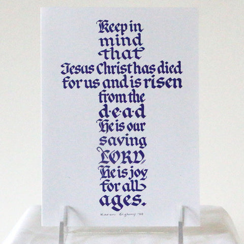 Card, Easter