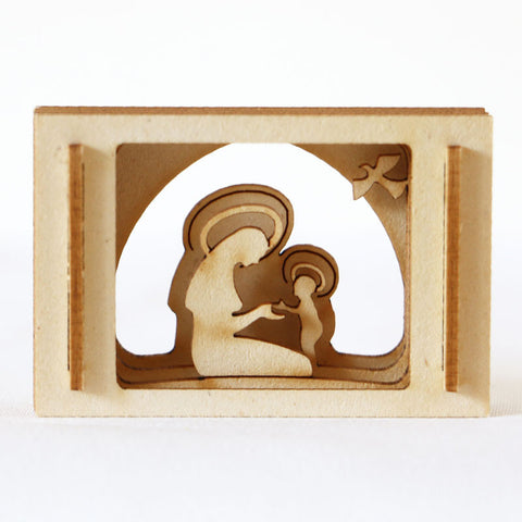 Nativity, Miniature Madonna & Child