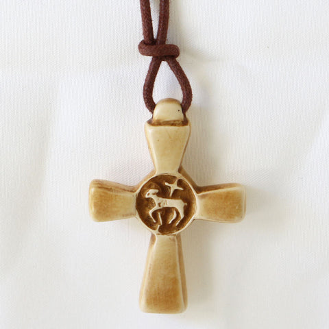 Cross, Paschal Lamb Pendant