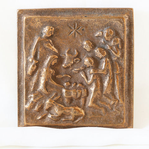 Nativity, Peace Be With You Plaque