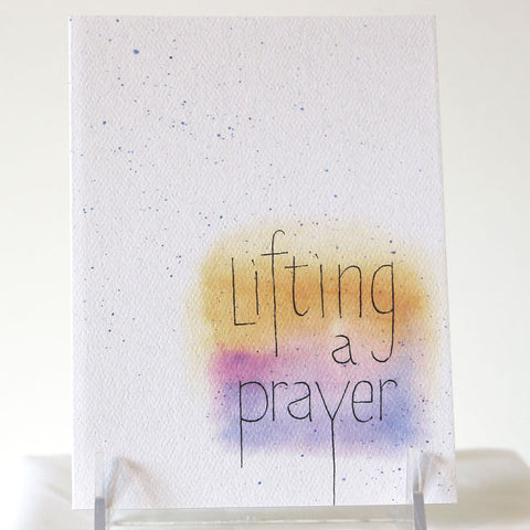 Card, Prayer
