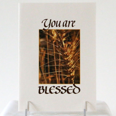 Card, Blessing