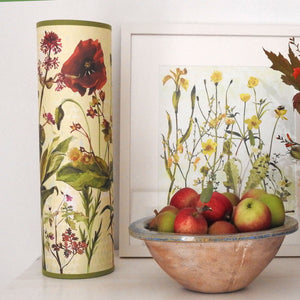 Wildflowers Tube Lights & Lampshade