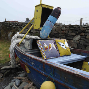 Contemporary Seabird cushions