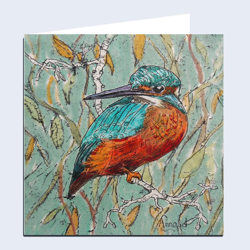 'Kingfisher' Greeting Card
