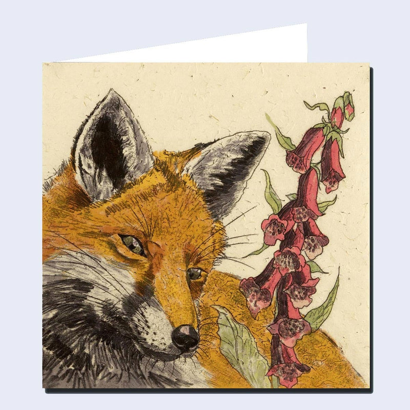 'Foxy' Greeting Card