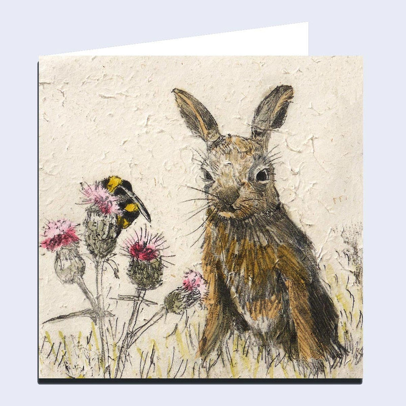 'Leveret' Greeting Card