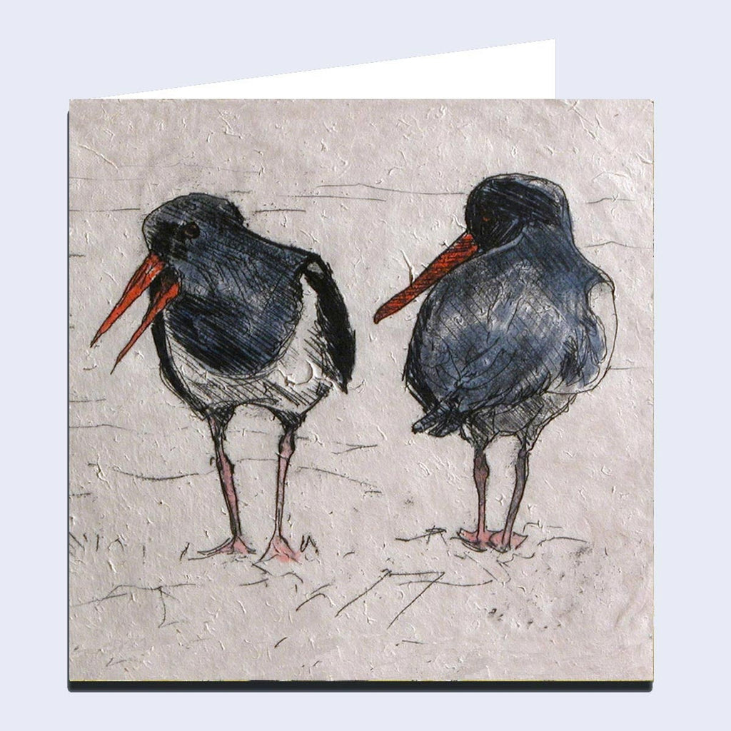 'Oystercatchers' Greeting Card
