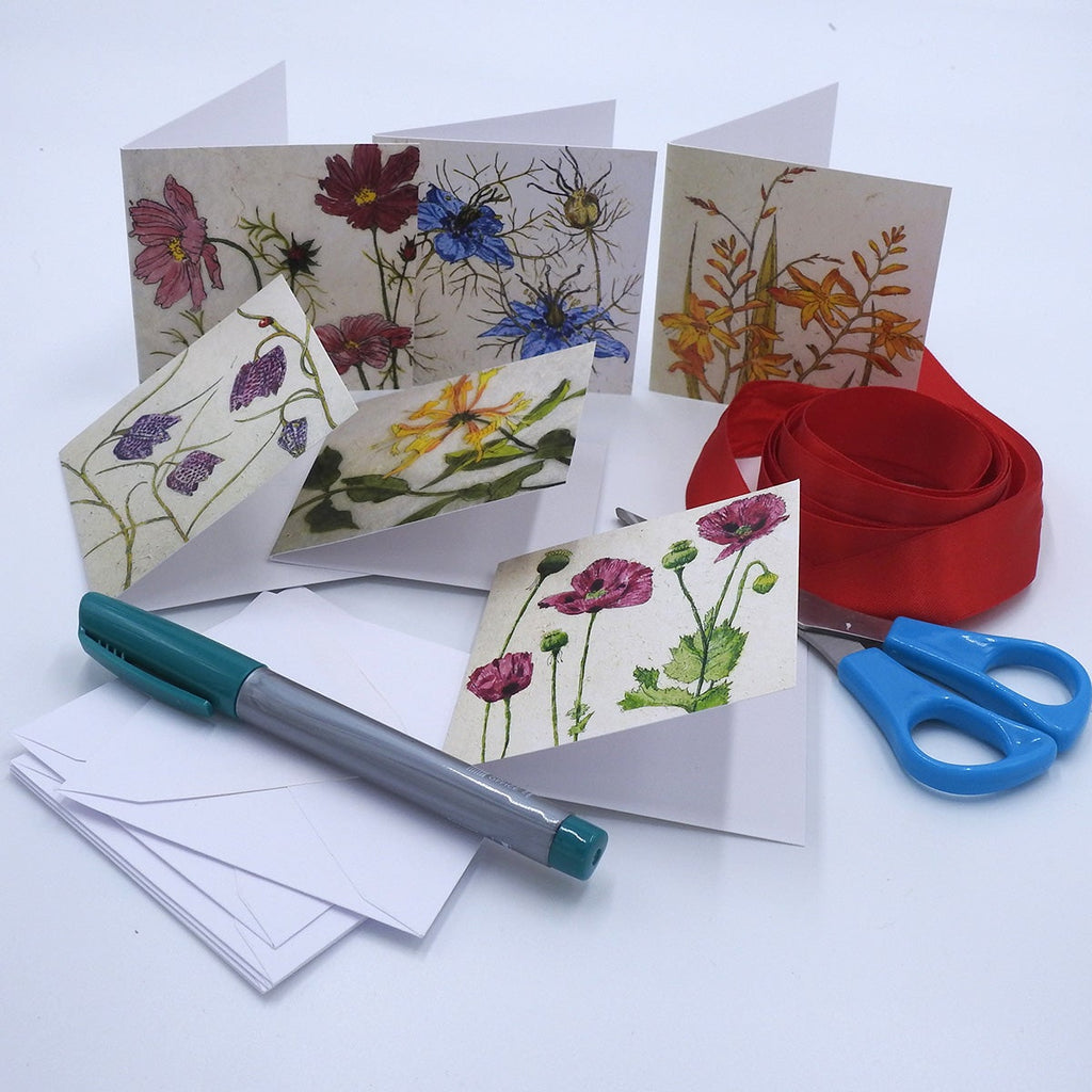 'Flowers' Mini Card Set