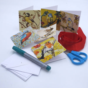 'Birds' Mini Card Box Set'