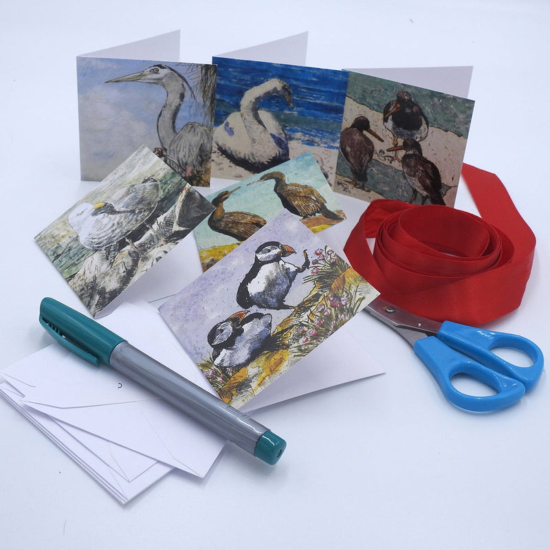 'Seabirds' Mini Card Box Set