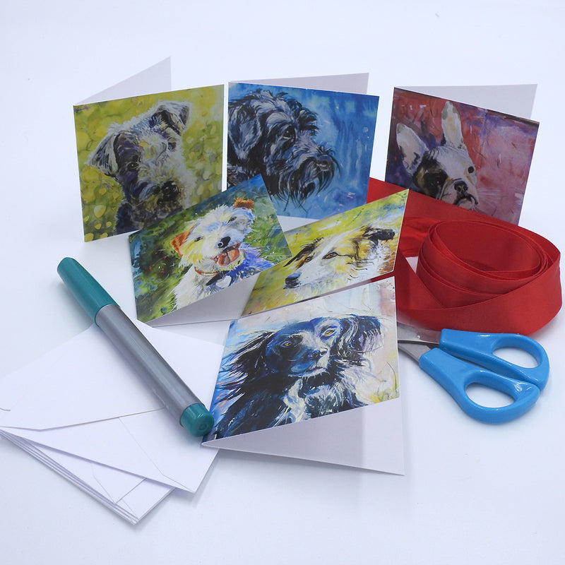 'Dogs' Mini Card Box Set