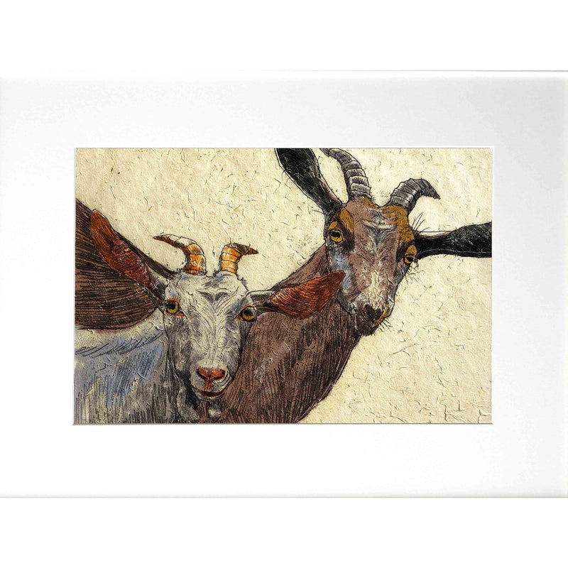 'Goats' Limited Edition Print