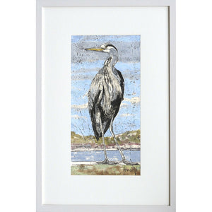 'Heron on the Pier'